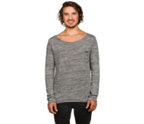 Woolhope Crew Neck Pullover light black