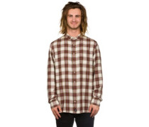 Harrell Shirt LS maroon