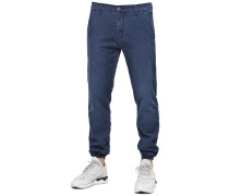 Jogger Hose blau
