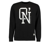 O'N Crew Sweater black out