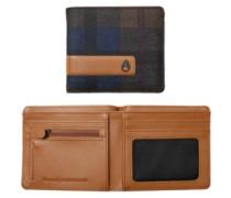 Showdown Bi-Fold Zip Wallet plaid