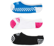 Acting Out 1-6 3Pk Canoodles Socks multi