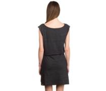 Tag Dress black melange