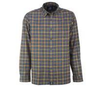 West View Shirt LS dark grey mel