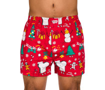 Merry Merry Boxershorts rot
