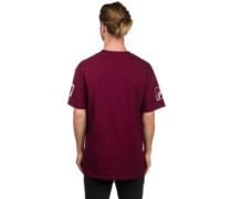 Jersey T-Shirt burgundy