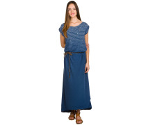 Tag Long Kleid blau
