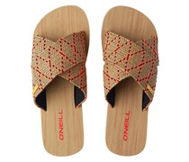 Ditsy Sandals red