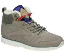 Classic Leather Mid Outdoor Shoes Frauen muster