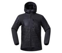 Osen Down/Wool Jacket black