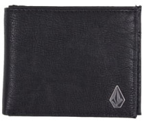Slim Stone Pu Wallet black