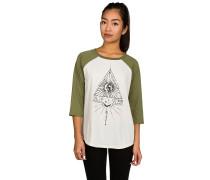 Contrast Raglan T-Shirt grün