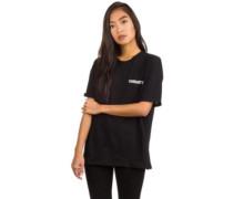College Script T-Shirt white