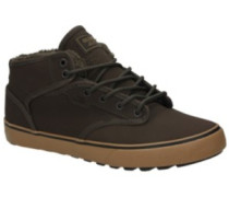 Motley Mid Fur Shoes brown fur