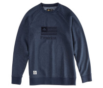 Arrows Crewneck Sweater blau
