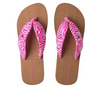 Ditsy Sun Sandals white