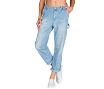 Pierce Ankle Jeans blau