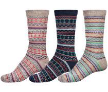Deluxe 3Pk Socken