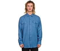 Channel Woven Hemd blau