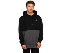 Fifty-Fifty Patch Hoodie black