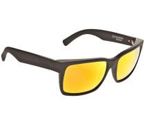 Elmore Black Satin Sonnenbrille schwarz