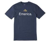 Skateboard Logo T-Shirt navy