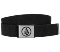 Circle Web Belt black