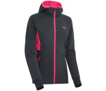 Tove Hooded Fleece Jacket ebony