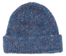 Snow Flake Dream Beanie dark blue