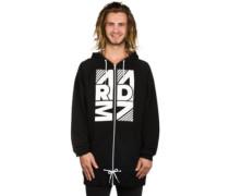 Fievel Zip Hoodie black