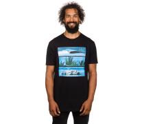 Tri Bar T-Shirt schwarz