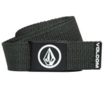 Circle Web Premium Belt charcoal heather