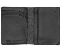 Coastal Bi-Fold Card Wallet black