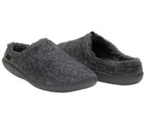 Berkeley Slippers grey slub textile