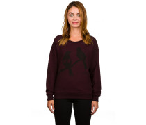 Love Birds Crewneck Sweater rot