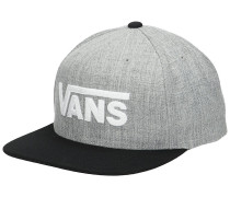 Drop V II Snapback Cap black