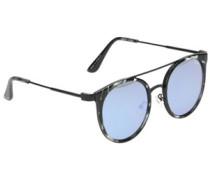Kandy Gram Black Tort blue mirror