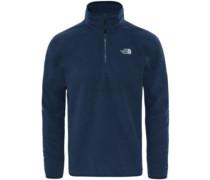 100 Glacier 1/4 Zip Fleece Pullover urban navy