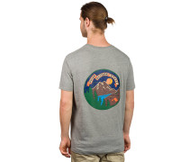 Camp Time T-Shirt grau