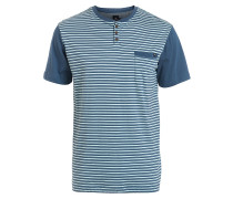 Aruba Henley T-Shirt blau