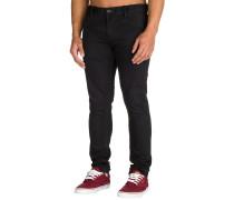 Killing Zone True Black Jeans schwarz
