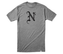 Raza T-Shirt dark heather gray