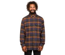 Singi Heavy Flannel Hemd braun