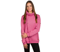 Good Waves Fleece Kapuzenjacke pink