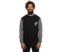 Beak Crew Neck Sweater black
