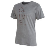 Massone T-Shirt stone grey mélange