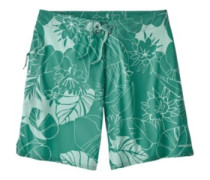 "Stretch Planing 8"" Boardshorts valley flora:beryl green"