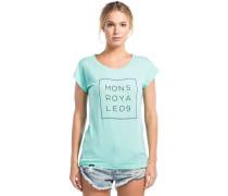 Cali Cap Square T-Shirt grün