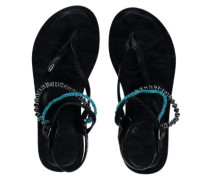 Batida Beads Sandals Women black out