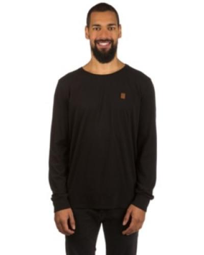 Italienischer Hengst Langen V T-Shirt LS black